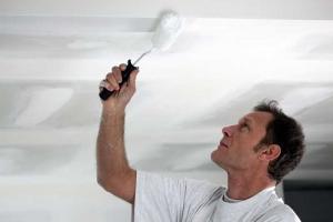 Plafond wit schilderen